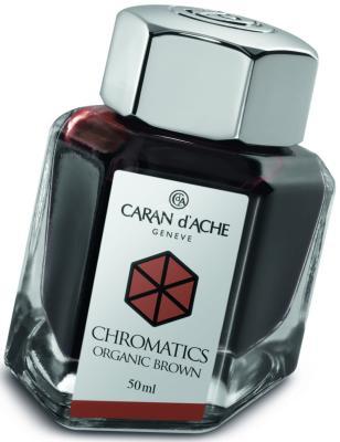 Флакон с чернилами Carandache Chromatics Organic Brown чернила коричневый 50мл 8011.049