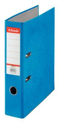 цена Папка-регистратор Esselte Rainbow А4 75мм картон синий 17925 онлайн в 2017 году