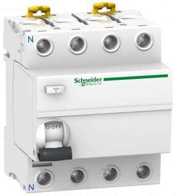 Выключатель дифференциального тока Schneider Electric iID 4П 25A 30мА AC A9R41425