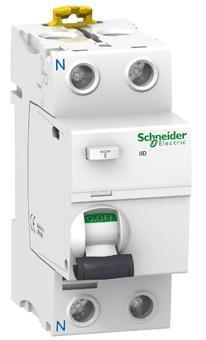 Выключатель дифференциального тока Schneider Electric iID 2П 25A 300мА AC A9R44225