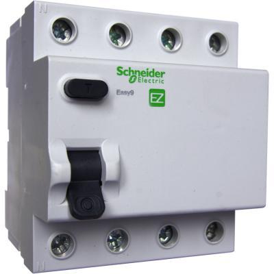 Выключатель дифференциального тока Schneider Electric EASY 9 4П 63А 30мА AC EZ9R34463