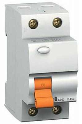Выключатель дифференциального тока Schneider Electric ВД63 2П 40A 30мА 11452 цена