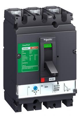 Автоматический выключатель Schneider Electric CVS 100F 3П 100A 36kA LV510337