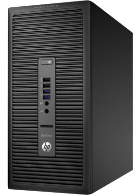 Системный блок HP EliteDesk 800 G2 i5-6600 3.3GHz 4Gb 1Tb DVD-RW Win7Pro Win10Pro клавиатура мышь черный V6K75ES