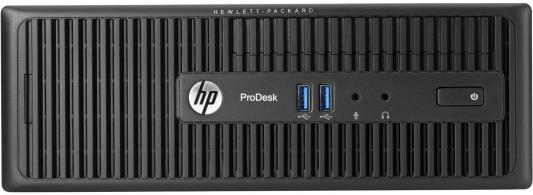 Системный блок HP ProDesk 600 G2 i3-6100 3.7GHz 4Gb 500Gb DVD-RW DOS клавиатура мышь черный V6K73ES
