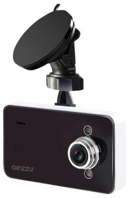 "Видеорегистратор Ginzzu FX-700HD 2.7"" 1280x720 1.3Mp 120° microSD microSDHC датчик движения USB"