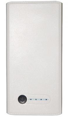 Портативное зарядное устройство Continent PWB-110WT 2xUSB 11000 mAh белый