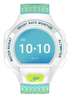 Смарт-часы Alcatel SM03 White/Lime Green&Blue