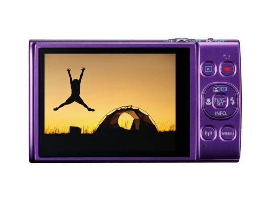 Фотоаппарат Canon Ixus 285HS 20Mp 12xZoom фиолетовый фотоаппарат canon ixus 285 hs silver