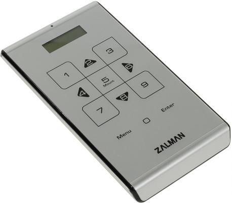 Внешний контейнер для HDD 2.5 SATA ZALMAN ZM-VE500 USB3.0 серебристый внешний контейнер для hdd 2x3 5 sata orico 9528u3 usb3 0 серебристый