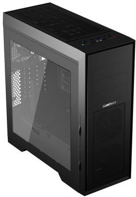 Корпус ATX GameMax M905(BK) Без БП чёрный бп atx 500 вт deepcool da500 m