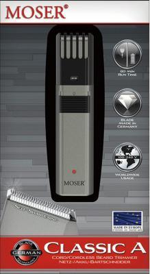 Машинка для стрижки бороды Moser 1040-0460 серый