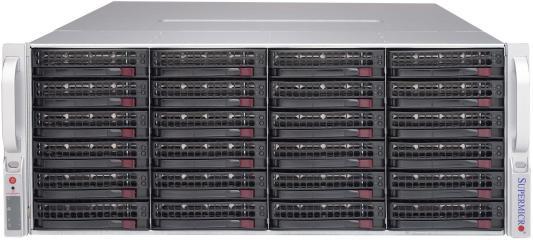 Серверный корпус 4U Supermicro CSE-847E16-R1K28JBOD 1280 Вт чёрный