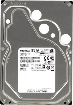 "Жесткий диск 3.5"" 4Tb 7200rpm Toshiba SATAIII MG04ACA400E"
