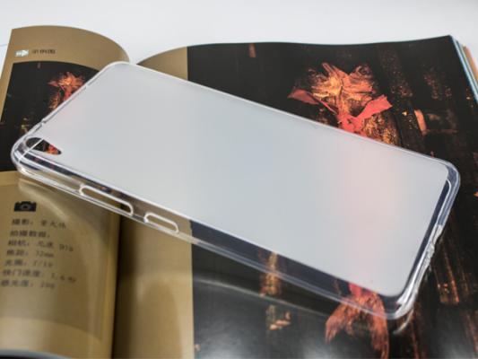 """Чехол IT BAGGAGE для планшета LENOVO Phab PB1-750 6.98"""" силикон мягкий прозрачный  ITLNPH10-0"""