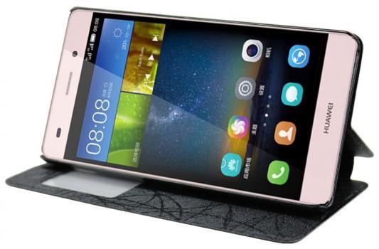 Чехол IT BAGGAGE для Huawei P8 черный ITHWP8L-1 цвет mooncase huawei p8 дело желе силиконовый гель тпу тонкий с подставкой обложка чехол для huawei ascend p8 серый