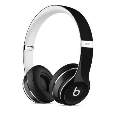 Наушники Apple Beats Solo 2 Luxe Edition черный/белый ML9E2ZE/A