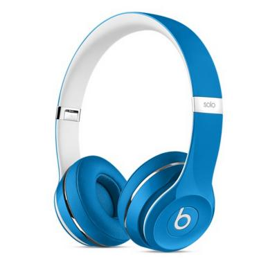 Bluetooth-гарнитура Apple Beats Solo 2 Luxe Edition голубой ML9F2ZE/A