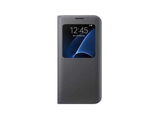 Чехол Samsung EF-CG935PBEGRU для Samsung Galaxy S7 edge S View Cover черный