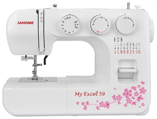 Швейная машина Janome MX 59 белый швейная машина vlk napoli 2400