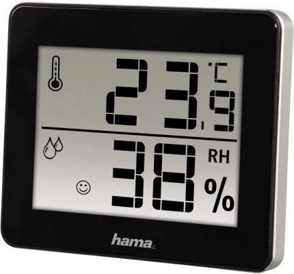 лучшая цена Термометр Hama TH-130 черный 00136261