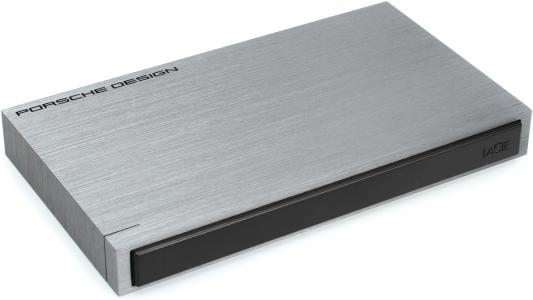 """Внешний жесткий диск 2.5"""" USB3.0 2Tb Lacie STET2000400 серебристый"""