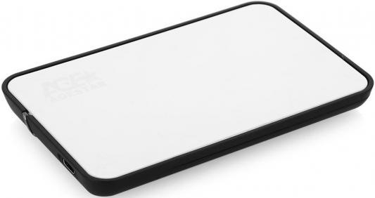 "Внешний контейнер для HDD 2.5"" SATA AgeStar 31UB2A8C USB3.1 серебристый"