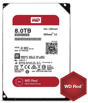 """Жесткий диск 3.5"""" 8 Tb 5400rpm 128Mb cache Western Digital Red SATAIII WD80EFZX"""