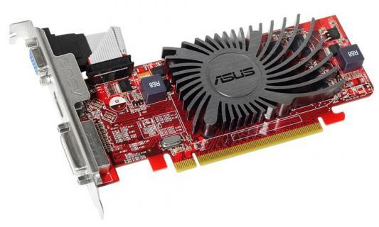 Видеокарта 1024Mb ASUS Radeon HD 5450 PCI-E 64bit GDDR3 HDMI CRT HDCP HD5450-SL-1GD3-BRK-V2 Retail