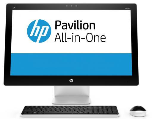 """Моноблок 23"""" HP Pavilion 23-q211ur 1920 x 1080 Intel Core i7-6700T 8Gb 1Tb + 8 SSD Intel HD Graphics 530 Windows 10 серебристый V2F88EA N8W45EA"""