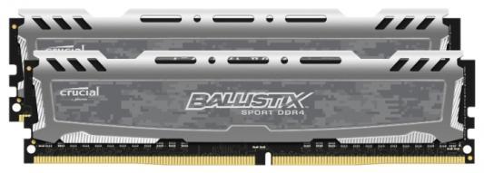 Оперативная память 8Gb (2x4Gb) PC4-19200 2400MHz DDR4 DIMM Crucial BLS2C4G4D240FSB
