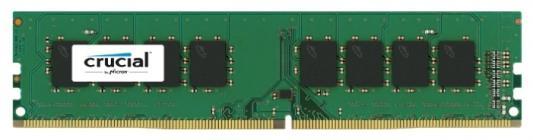 Оперативная память 8Gb (1x8Gb) PC4-19200 2400MHz DDR4 DIMM CL17 Crucial CT8G4DFD824A