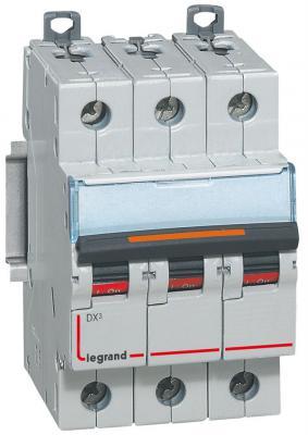 Автоматический выключатель Legrand DX3 6000 10кА тип C 3П 32А 407862