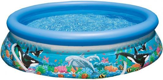 Купить Надувной бассейн INTEX Easy Set с рисунком 305х76 см 28124