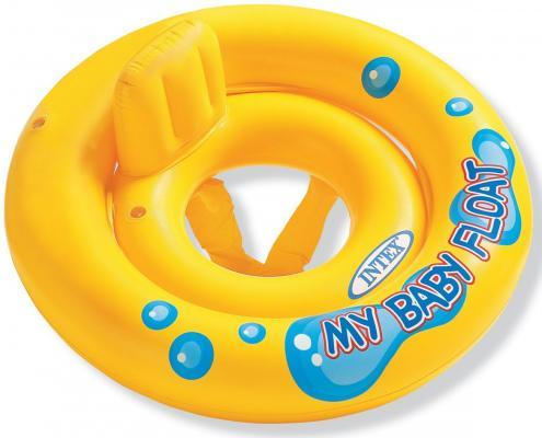 Круг-лодка с трусами 69 см Intex 59574NP круг intex для плавания 67см с трусиками 59574
