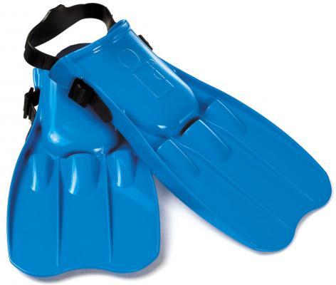 Ласты для плавания Юниор 8-11 лет Intex 55932 (синий)  - купить со скидкой