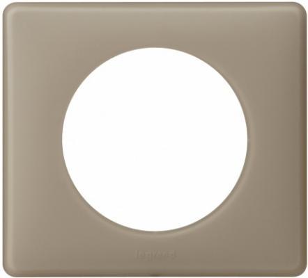 Рамка Legrand Celiane 1 пост серый перкаль 66721 legrand рамка четырехместная legrand celiane норка
