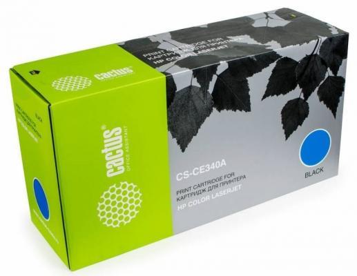 Картридж Cactus CS-CF300AR для HP Color LaserJet Enterprise M880 29500 Черный sakura q7516a black тонер картридж для hp laserjet 5200 5200 dtn 5200tn 5200l