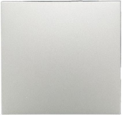 Клавиша Schneider Electric для выключателя двухклавишного серебристый MTN412546