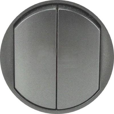 Лицевая панель Legrand Celiane для выключателя графит 64901