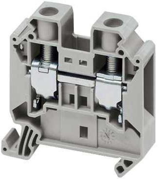 Клеммник Schneider Electric винтовой проходной сечением провода 16мм 2 точки подключения NSYTRV162