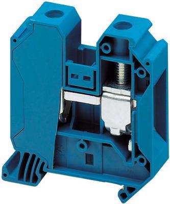 Клеммник Schneider Electric винтовой проходной сечением провода 35мм 2 точки подключения NSYTRV352BL