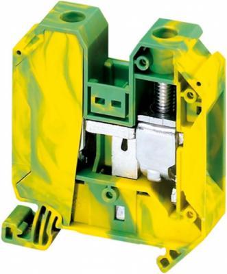 Клеммник Schneider Electric винтовой с заземлением сечением провода 35мм 2 точки подключения NSYTRV352PE