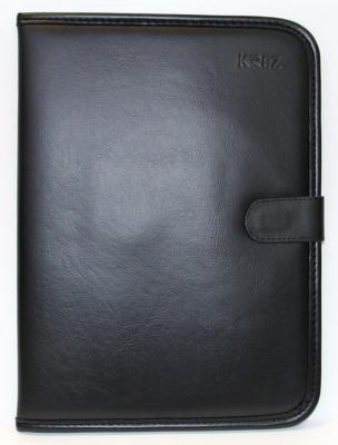 Чехол KREZ для планшетов 10 черный L10-701BG швабра loks super cleaning с насадкой для отжима цвет розовый l10 2757 11