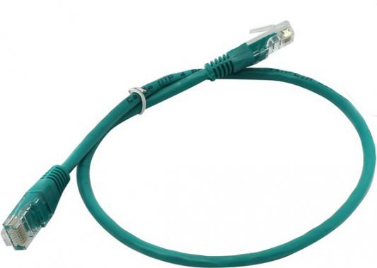 Патч-корд 5E категории UTP 0.5м зеленый