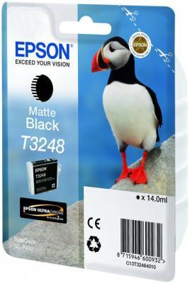Картридж Epson C13T32484010 для Epson SC-P400 матовый черный original cc03main mainboard main board for epson l455 l550 l551 l555 l558 wf 2520 wf 2530 printer formatter