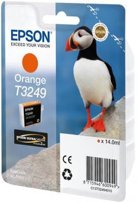 Картридж Epson C13T32494010 для Epson SC-P400 оранжевый картридж epson t009402 для epson st photo 900 1270 1290 color 2 pack