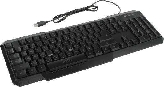 Клавиатура Oklick 740G USB черный