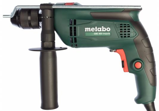 Дрель Metabo SBE 650 Impuls 650Вт 600672000