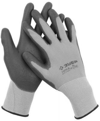 Перчатки Зубр Мастер для точных работ с полиуретановым  покрытием M 11275-M